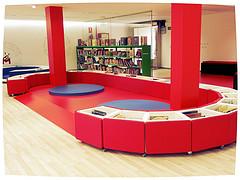 Sala infantil Biblioteca Castrillon