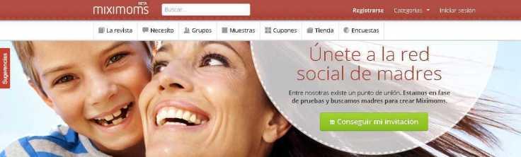 Miximoms - La red social de madres