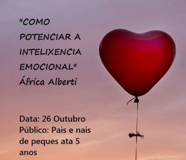 Charla intelixencia emocional de Alfrica Alberti na Biblioteca Castrillon