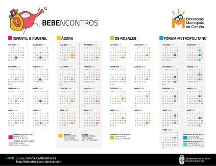 CALENDARIO bebeteca 2013-2014