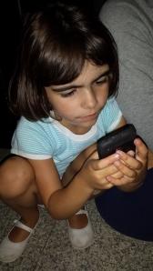 Usando o smartphone