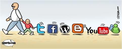 Pais, fillos e redes sociais