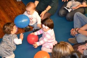 Bebes de 0-12 meses no Bebencontro do 23 de xaneiro de 2014