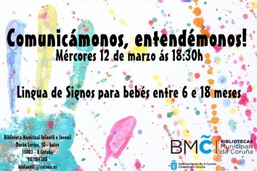 CARTEL ACTIVIDAD BEBÉS 12 DE MARZO