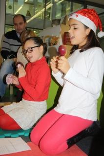 Violeta y Sara, gracias por vuestra música.