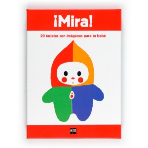 Cuberta do libro ¡Mira! 20 tarjetas con imágenes para tu bebé