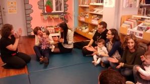 Foto do Bebencontro 11 de abril na Biblioteca Infantil