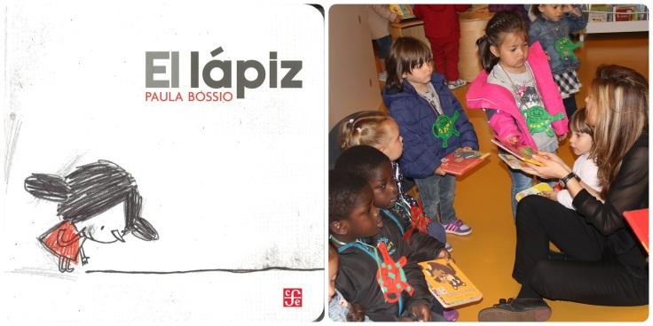 Portada do Lápiz, compartindo contos co alumnado da Galiña Azul do Ventorrillo