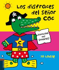Los disfraces del Señor Coc, de Jo Lodge