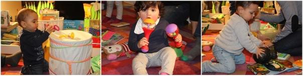 Diversidade de contidos na Bebeteca Ágora