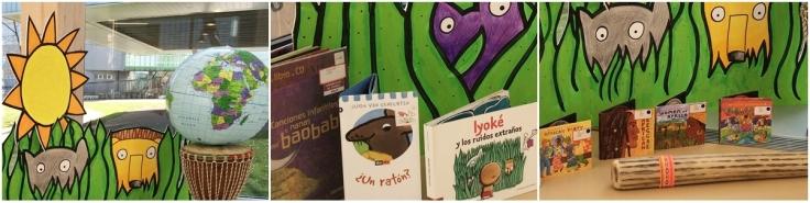 """""""Uélé moliba makasi"""" · Escoita a nana congoleña extraída do libro-cd """"Cancionero infantil do Baobab"""" da Editorial Kókinos"""