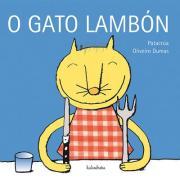 O gato lambón