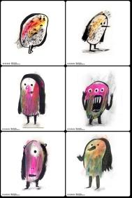 Personajes con carácter